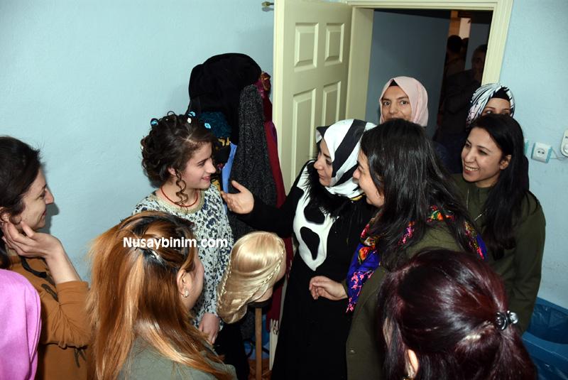 Ak Parti Kadın Yöneticilerinin ziyareti