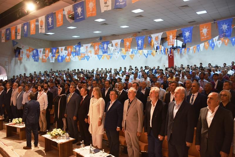 Nusaybin Ak Parti 6. Olağan Kongresini yaptı