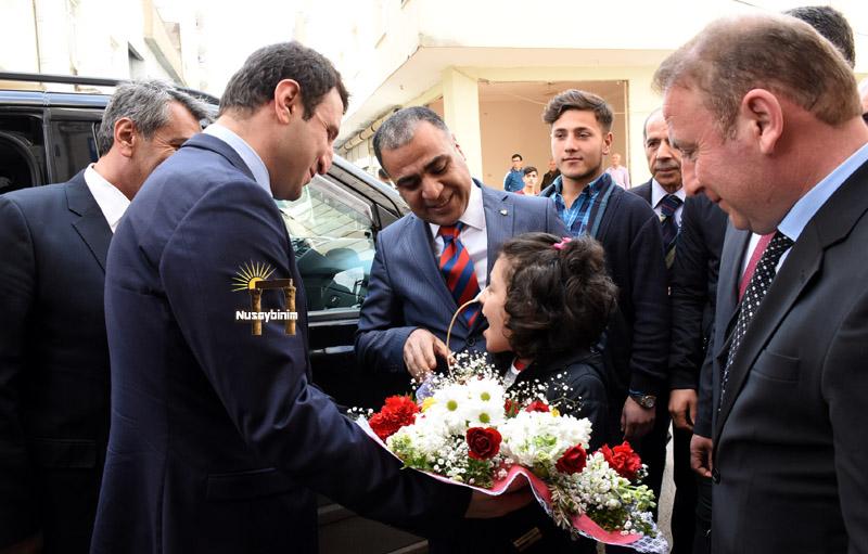 Bakan yardımcısı Yegin, Nusaybin'de