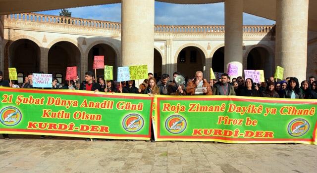Nusaybin'de 'Dünya Anadil Günü' etkinlikleri