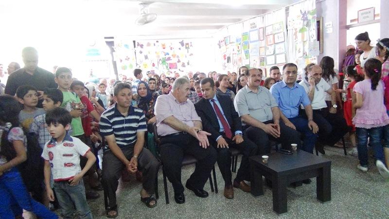 Atatürk İlk okulunda yıl sonu etkinliği