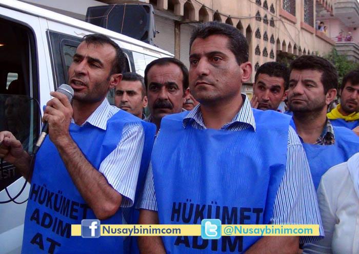 Nusaybin'de 'Hükümet Adım At' yürüyüşü
