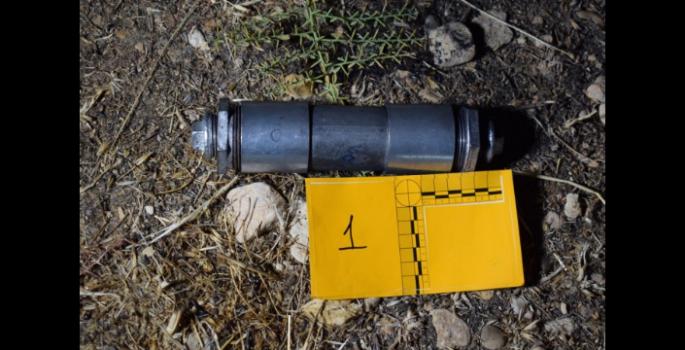 Bebek bezleri içerisine gizlenmiş bomba bulundu