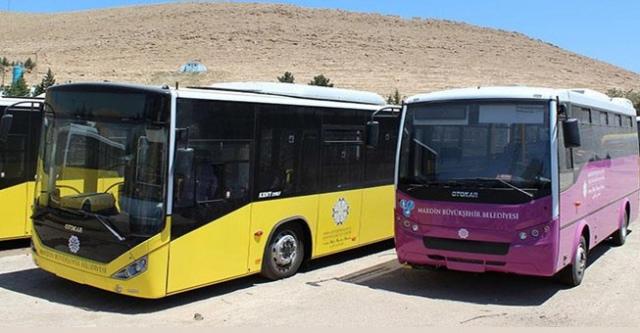 Nusaybin'e yönelik ücretsiz ulaşım süresi uzatıldı