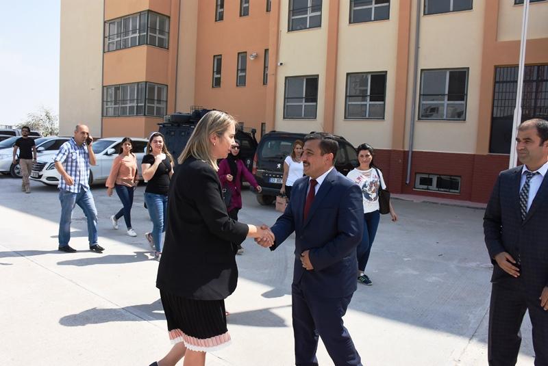 Milletvekili Çankırı Nusaybin'i ziyaret etti