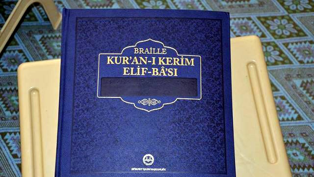 Nusaybin'de Görme Engelliler için Kur'an-ı Kerim Kursu açılacak