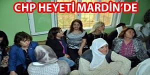 CHP Heyeti Mardin'de