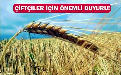Çiftçiye 30 Milyon 848 bin TL destekleme ödemesi yapılacak