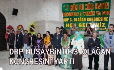 DBP Nusaybin ilçe teşkilatı 3. Olağan Kongresini yaptı