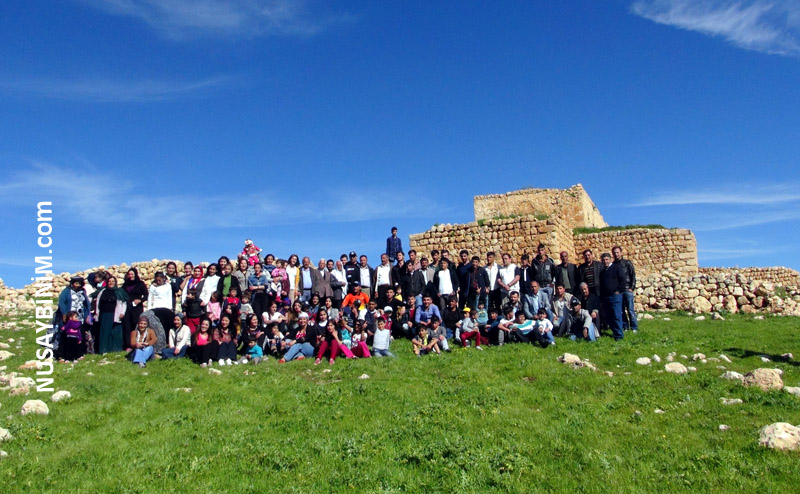 Nusaybin Der Çömeriler 33 yıl sonra ilk defa köylerinde piknik yaptı