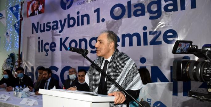 DEVA Partisi Nusaybin 1. Olağan Kongresi yapıldı