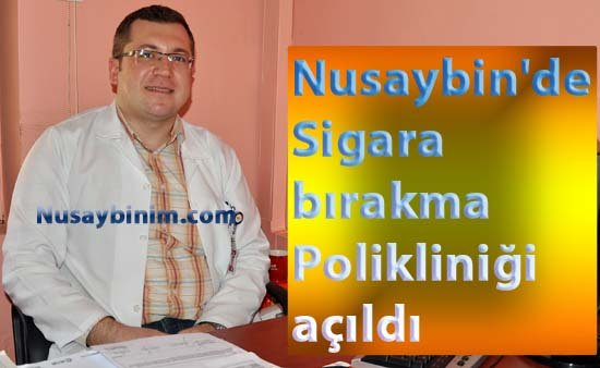 Nusaybin'de Sigara bırakma Polikliniği açıldı