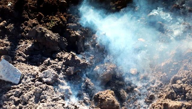Nusaybin - Duruca mevkisinde bulunan bomba imha edildi