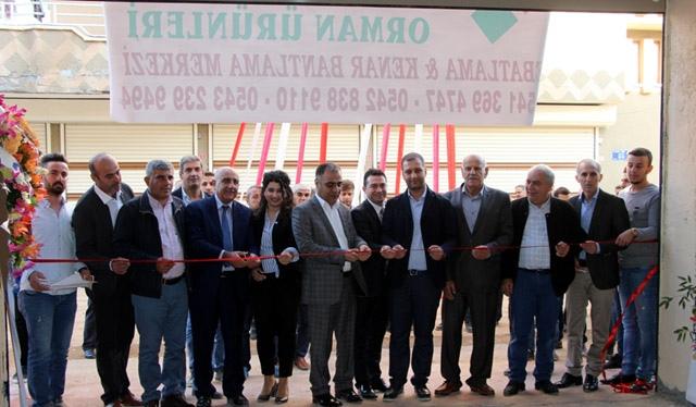 Alptekin Orman Ürünleri ebatlama ve bantlama merkezi açıldı
