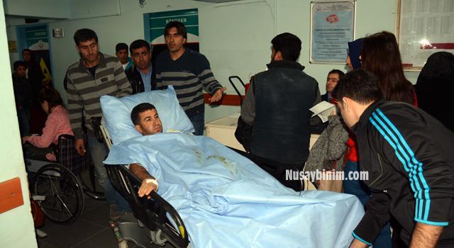 Nusaybin'de elektrik akımına kapılan 1 kişi yaralandı