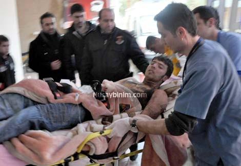 Nusaybin'de elektrik çarpması: 1 kişi yaralandı