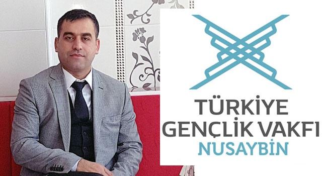 TÜGVA Nusaybin Temsilciliğine Aydın seçildi