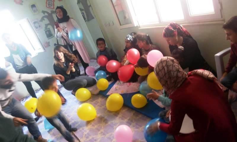 Engelli öğrenciler için eğlence düzenlendi