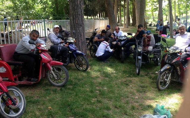 Nusaybin'de engelliler piknikte bir araya geldi
