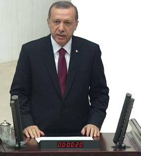 Cumhurbaşkanı Erdoğan Yemin etti