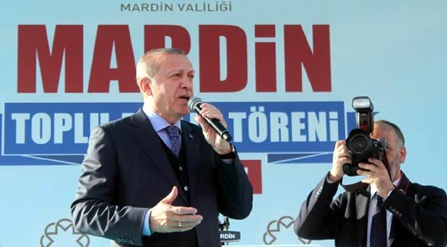 Cumhurbaşkanı Erdoğan Mardin'e geliyor