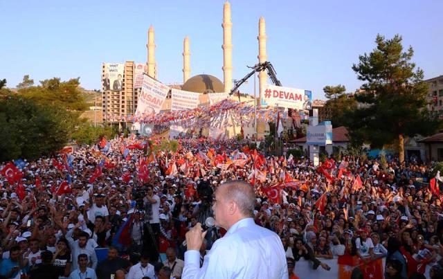 Cumhurbaşkanı Erdoğan: Nusaybin'e 168 trilyon lira yatırım yapıldı