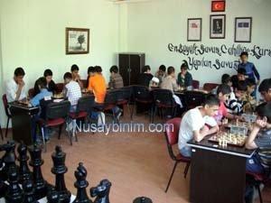 Nusaybinde Satranç Turnuvası Heyecanı
