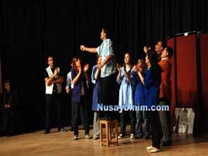 Nusaybin Eğitim-sen Tiyatrosu büyük ilgi gördü