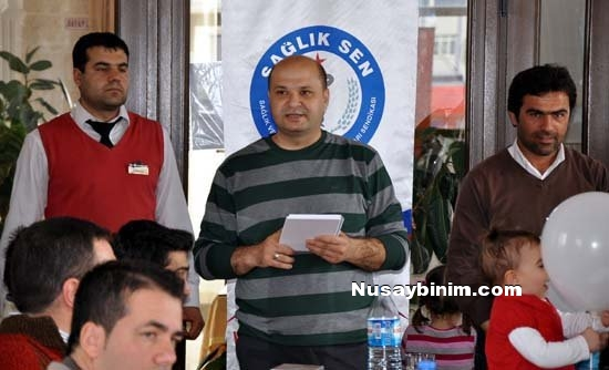 Sağlık-sen Nusaybin üyeleri 'Sağlık Haftası'nı kutladı