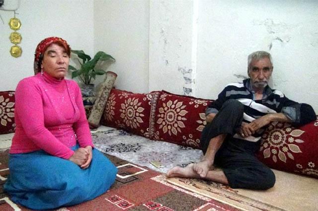 Nusaybin'de eşi kalp hastası görme engelli kadın yardım bekliyor
