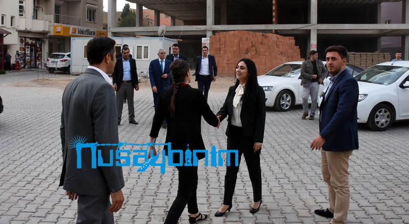 HDP Eş Genel Başkanı Yüksekdağ, Nusaybin'de