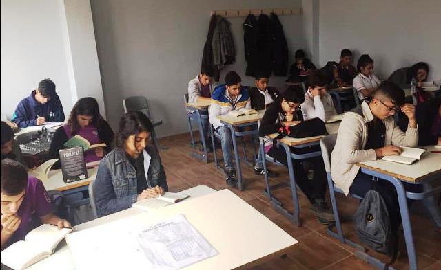 Öğrenciden Güvenlikçiye Okuma Farkındalığı Projesi