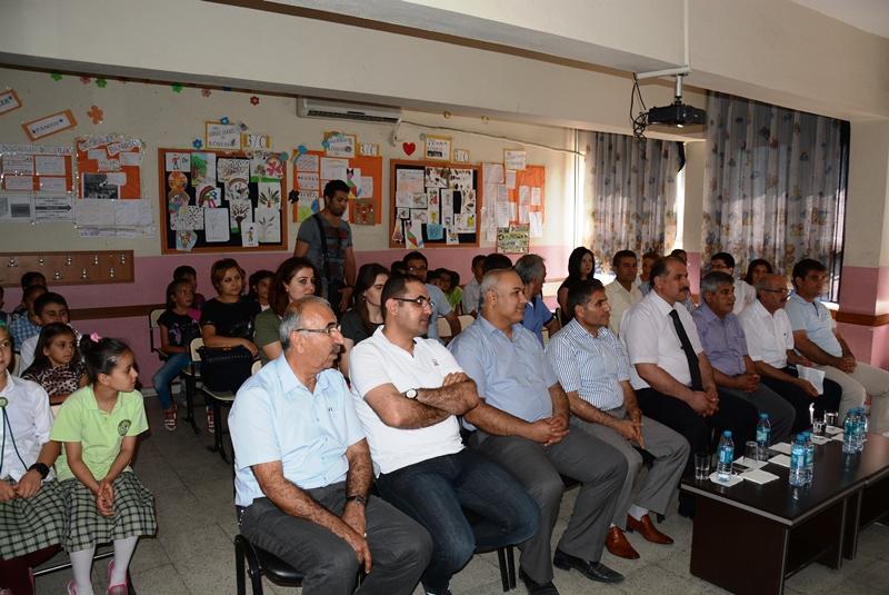 Nusaybin FSM İlkokulunda ödül ve sergi