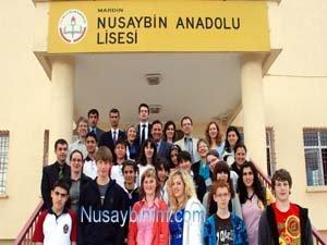 Almanya ve Lichteinstein'den 8 Öğrenci ve 8 Öğretmen Nusaybin'de