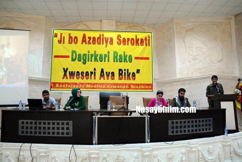Nusaybin Gençlik Meclisi Konferansı yapıldı