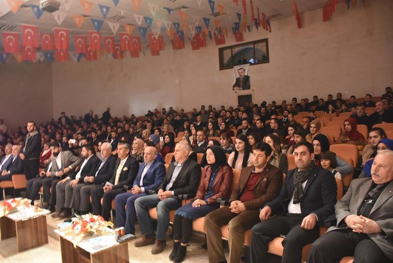 Ak Parti Nusaybin Gençlik Kolları 5. Olağan Kongresini yaptı