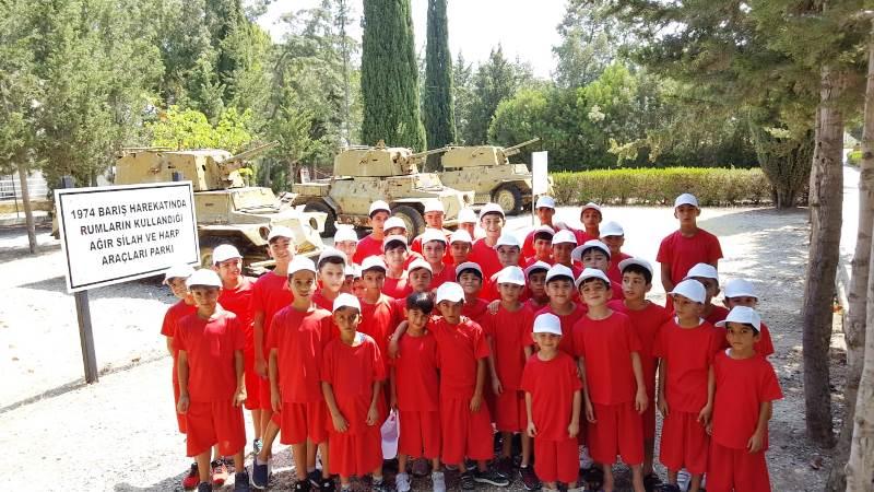 GS Futbol Okulu ve Çocuk Gelişim Merkezi öğrencileri Kıbrıs'ta