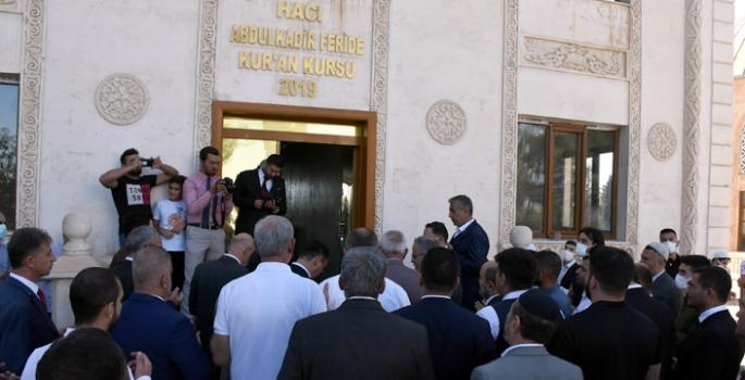 Hacı Abdulkadir – Feride Kur'an Kursu dualarla faaliyete girdi