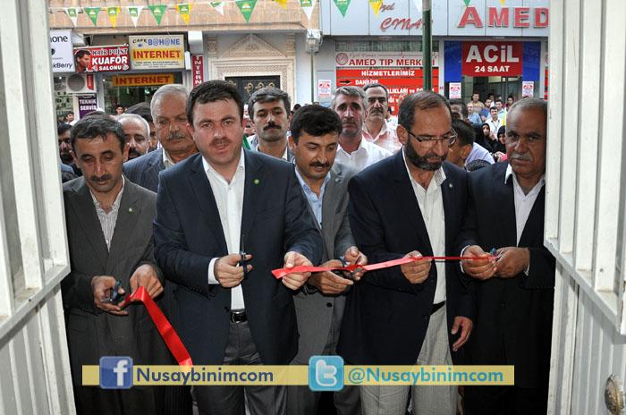 Hüda-Par Nusaybin teşkilatı açıldı