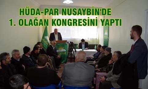 Hüda-par Nusaybin'de 1. Olağan Kongresini yaptı