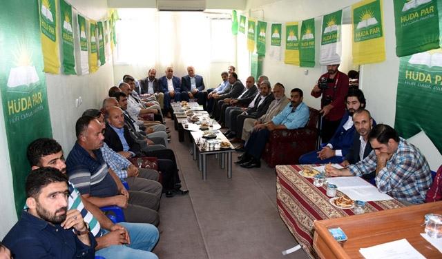 Hüda-Par Nusaybin'de 2. Olağan Kongresini yaptı