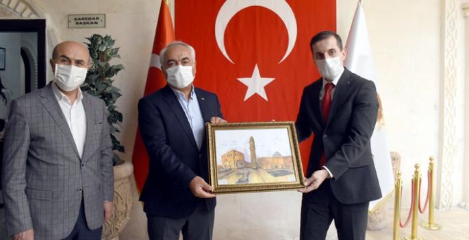 İçişleri Bakan Yardımcısı Mehmet Ersoy Nusaybin'i ziyaret etti