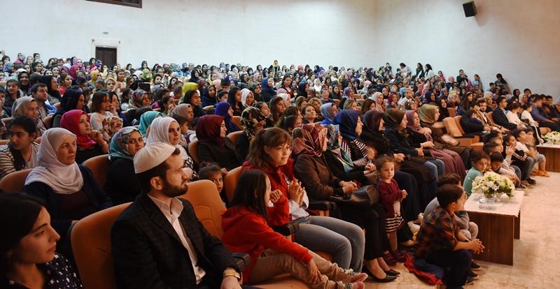 Nusaybin'de Hz Muhammed'i Anma programı düzenlendi