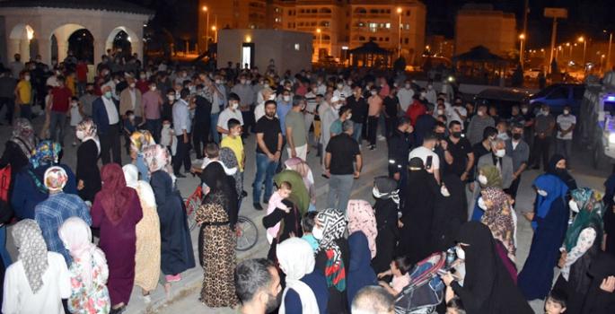 İsrail'in Kudüs işgali Nusaybin'de protesto edildi