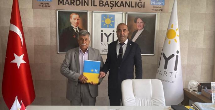 İYİ Parti Nusaybin İlçe Başkanlığına Süleyman Ağırman atandı