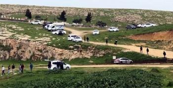 Jandarma Nusaybin'de piknikçilere müdahale etti