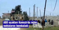 ABD uçakları Kamışlı'da rejim noktalarını bombaladı iddiası