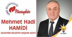 AK Parti Nusaybin Adayı Hamidi'den teşekkür açıklaması