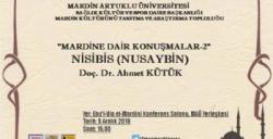 Artuklu Üniversitesi bu hafta 'Nusaybin'i konuşacak