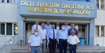 Çiftçilerin Elektrik sorunları için DEDAŞ yetkilileri ile görüştüler